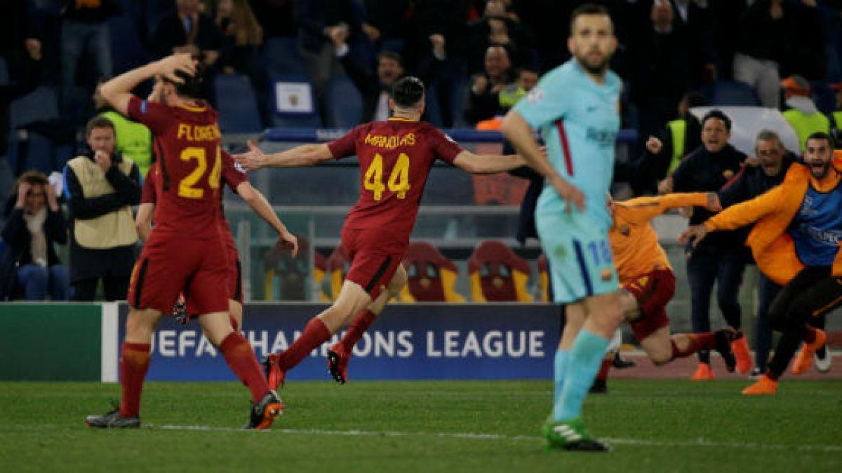 "[VIDEO] ¿Troleo a FC Barcelona? La curiosa respuesta de AS Roma a publicación ""culé"""