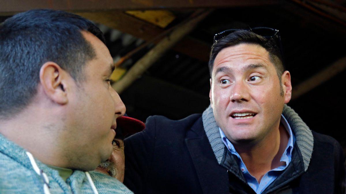 Pancho Saavedra pasa el susto de su vida grabando