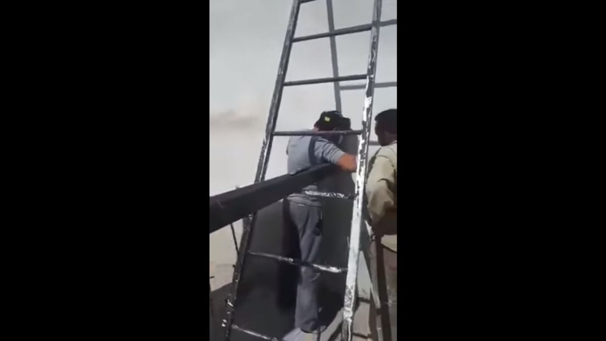 [VIDEO] El insólito error que protagonizaron trabajadores de la construcción