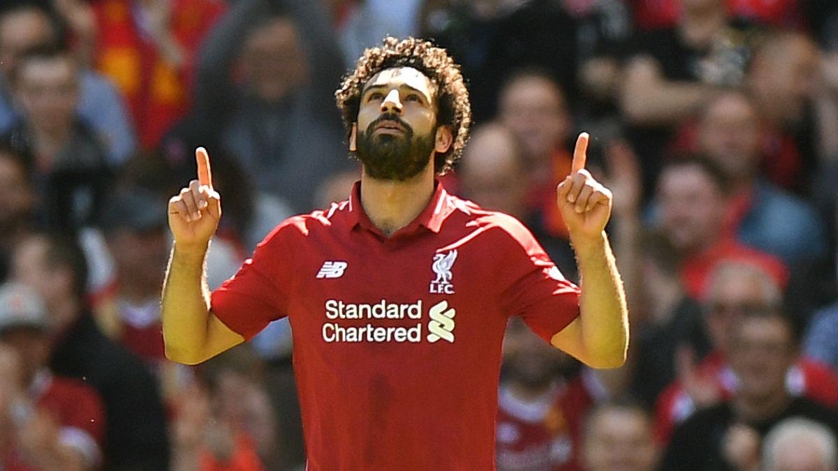 Mohamed Salah bate récord goleador y es nombrado mejor jugador de la Premier League