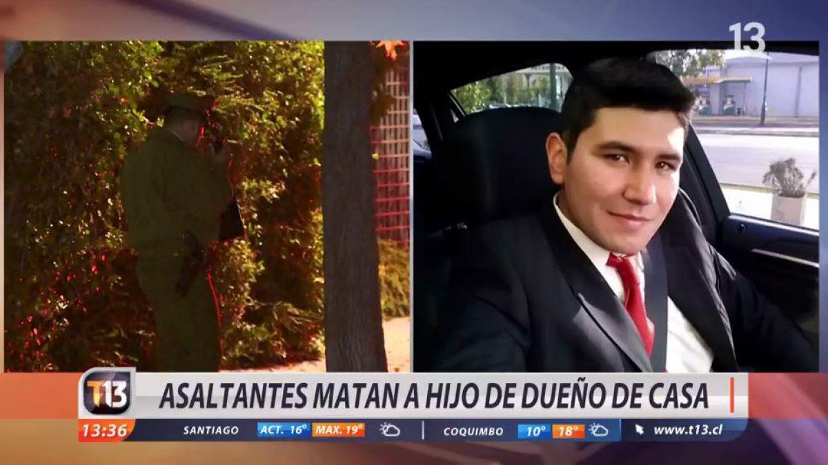 [VIDEO] Amiga de joven asesinado tras asalto en Lo Barnechea: Mataron a un niño sano