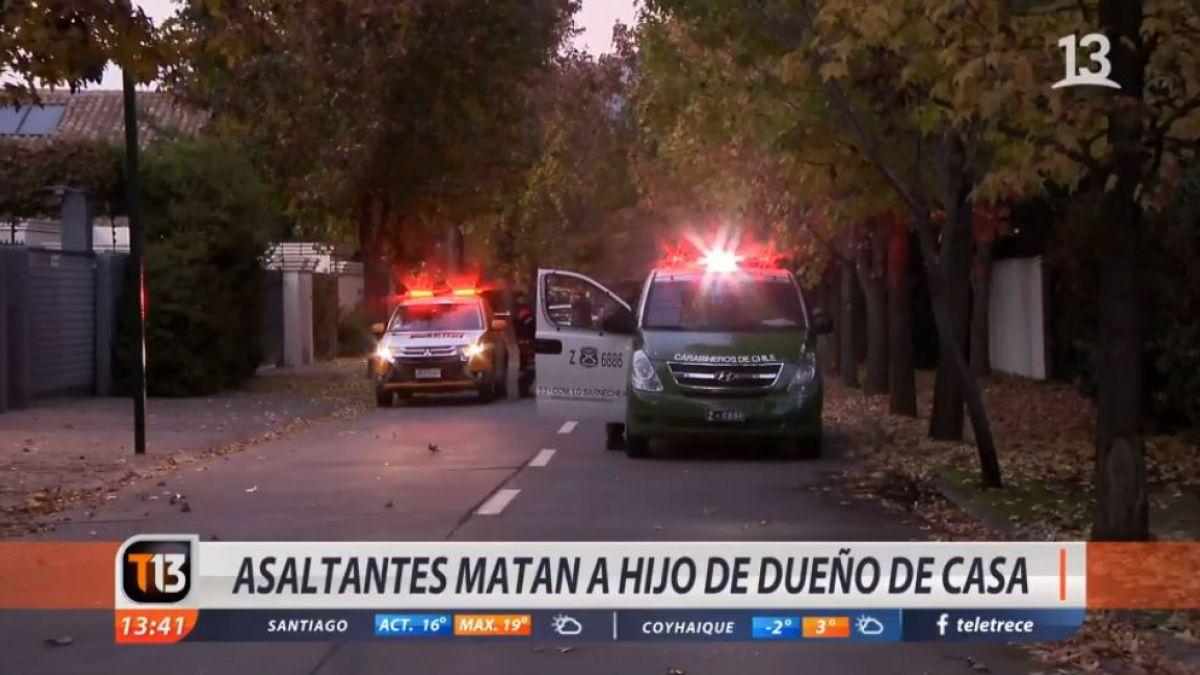 Joven falleció en Lo Barnechea tras intentar repeler robo