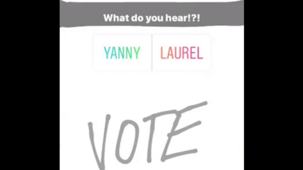 El sonido que tiene dividido a internet — Yanny o Laurel