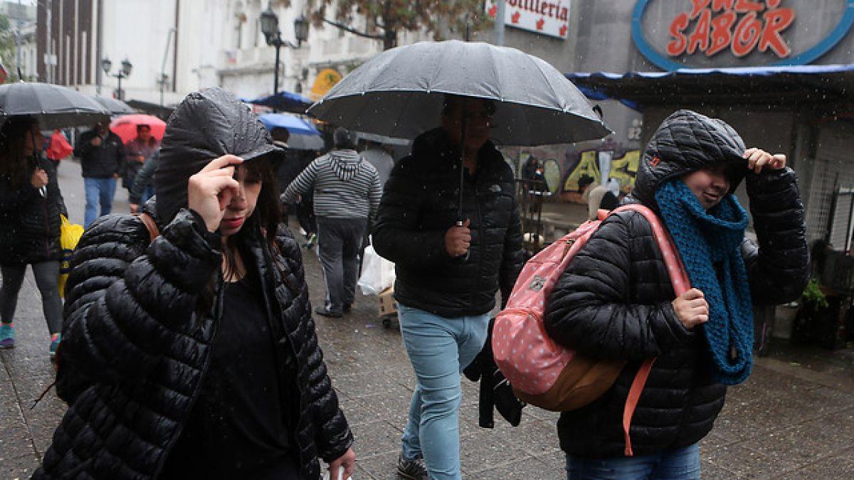 [VIDEO] ¿En qué parte de la Región Metropolitana lloverá este miércoles?