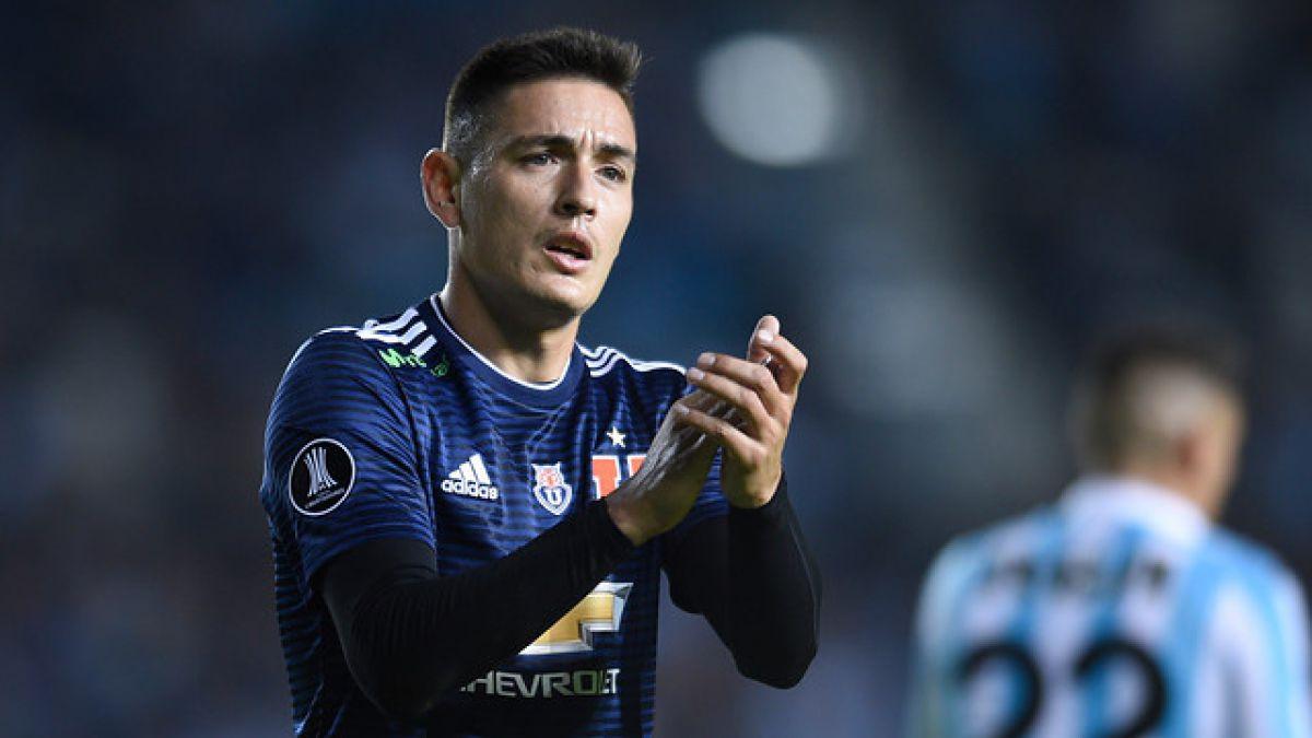 Matías Rodríguez con un pie fuera de la U y seleccionado chileno sería su reemplazo