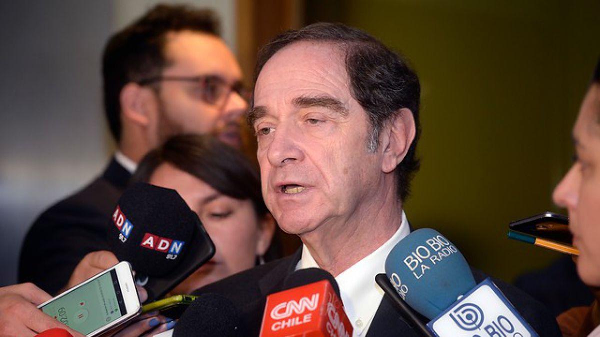 Cámara de Diputados aprobó interpelación a ministro de Justicia Hernán Larraín