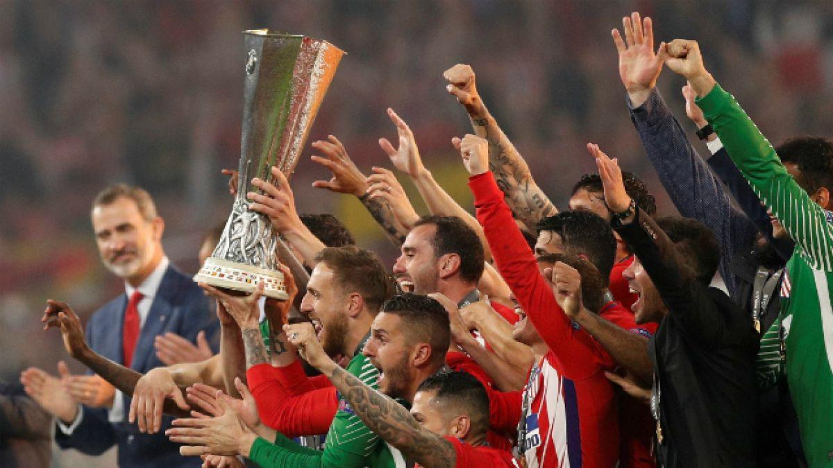 Atlético de Madrid golea a Marsella y conquista su tercera Europa League