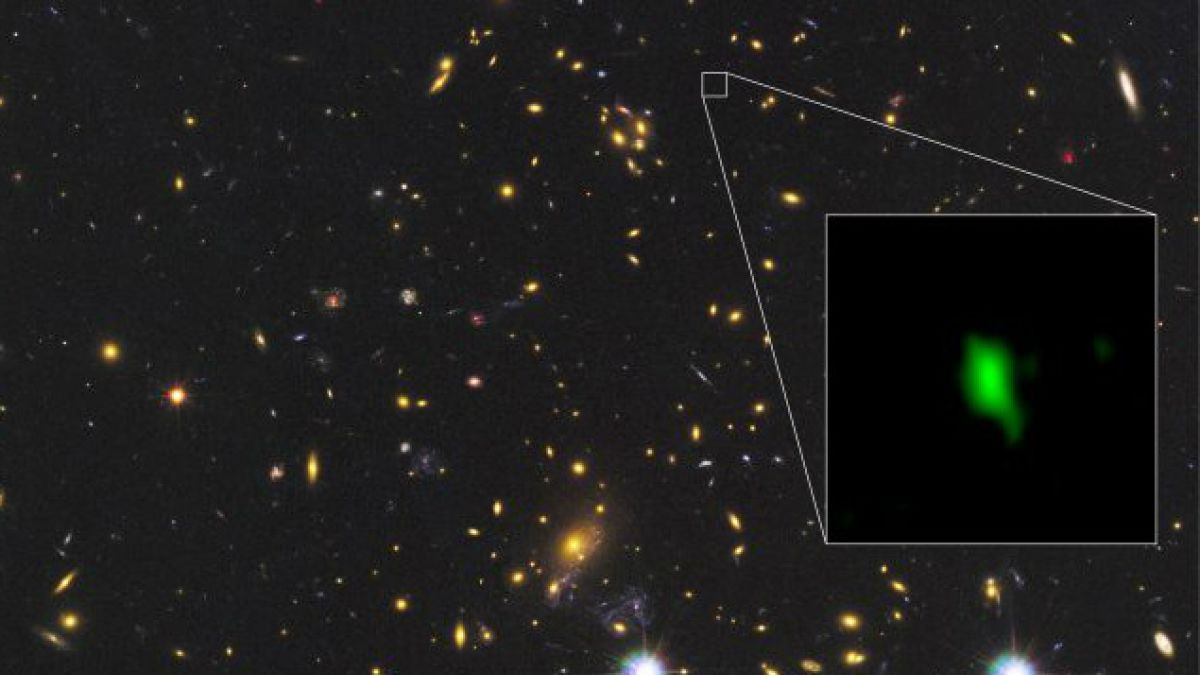 Observatorio ALMA detecta los rastros de oxígeno más distantes del universo