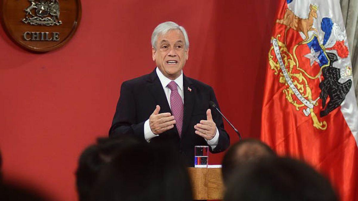 Piñera encabeza primera mesa de trabajo para el Acuerdo Nacional de Desarrollo Integral