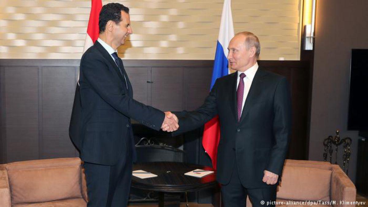 Vladimir Putin sostiene reunión en Rusia con Bashar al Asad