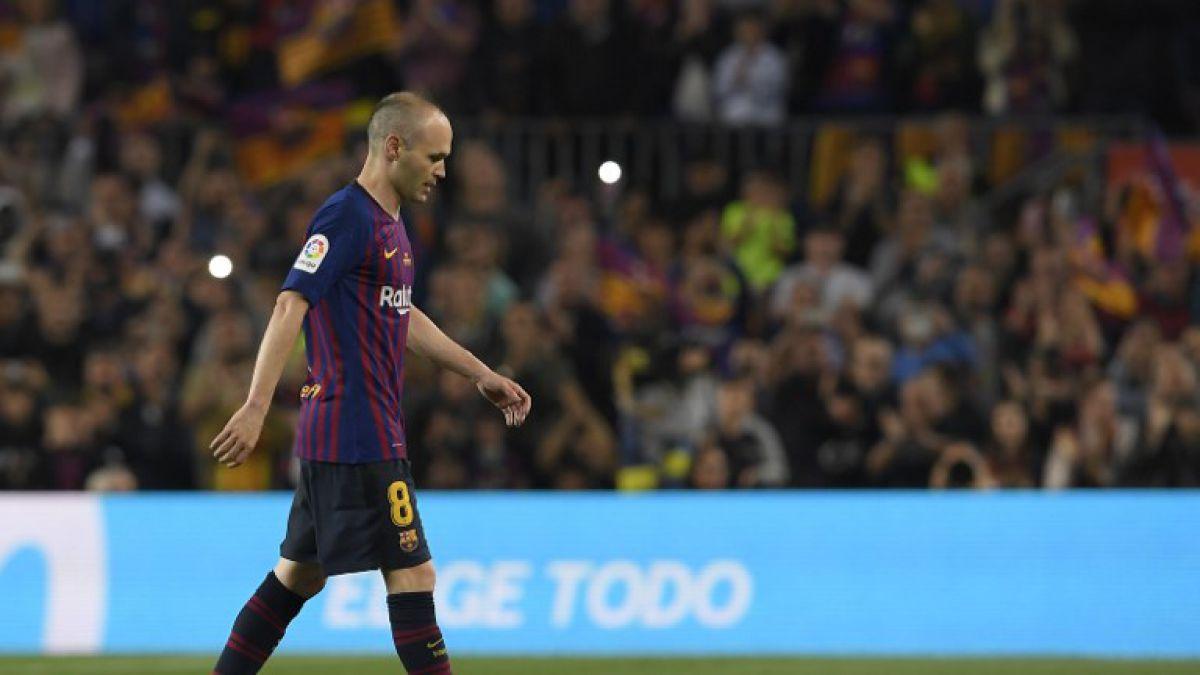 VIDEO  Así fue la emotiva despedida de Andrés Iniesta del Barcelona 052ed821d301e