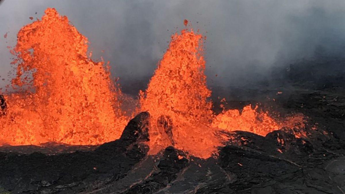 Video Lava Del Volcan Kilauea Afecta Fuertemente Al Turismo