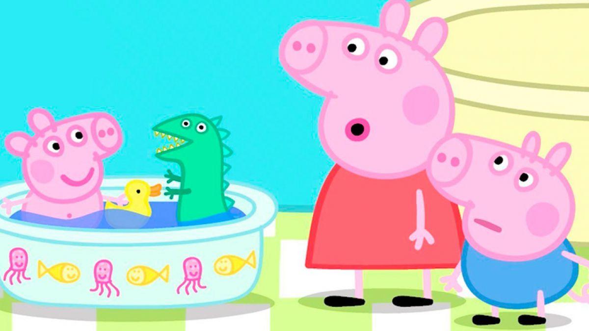 La voz de peppa pig tiene 16 a os y ser millonaria a los - Peppa cochon a la plage ...