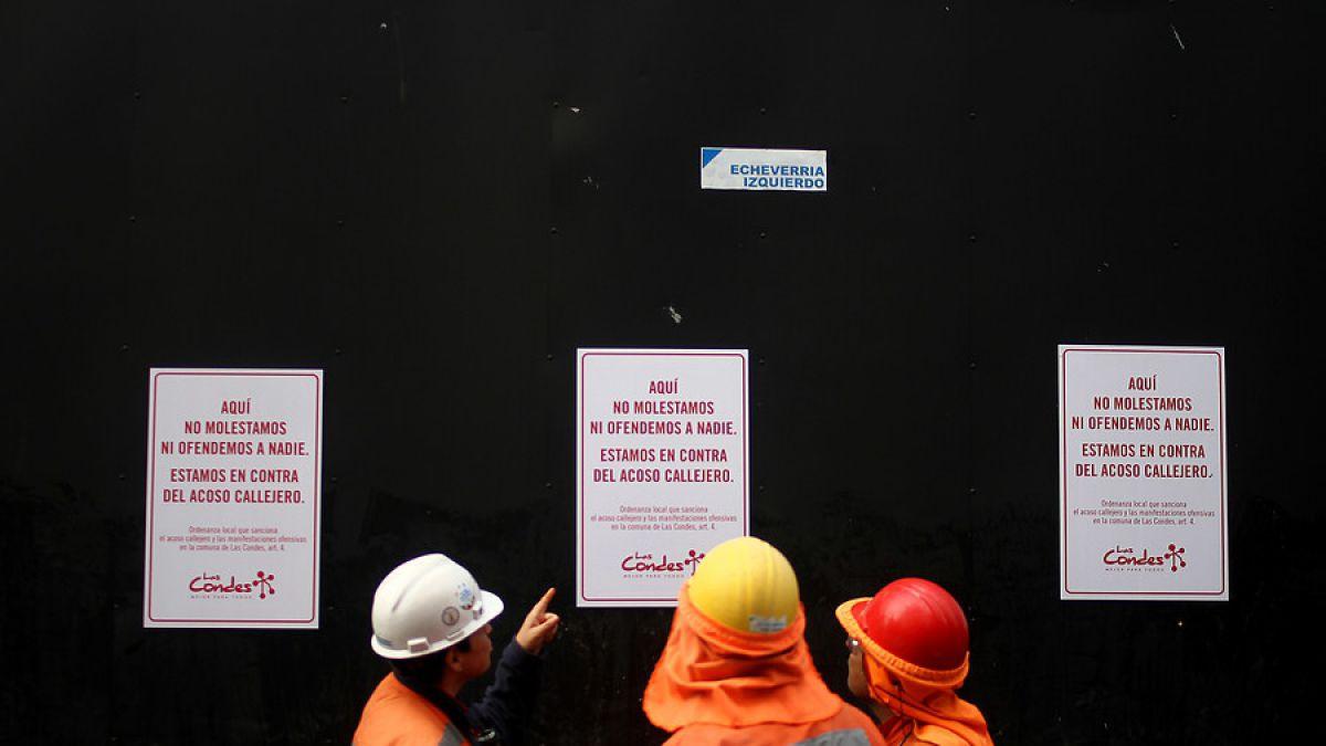 Carabineros saca primer parte en Las Condes por acoso callejero