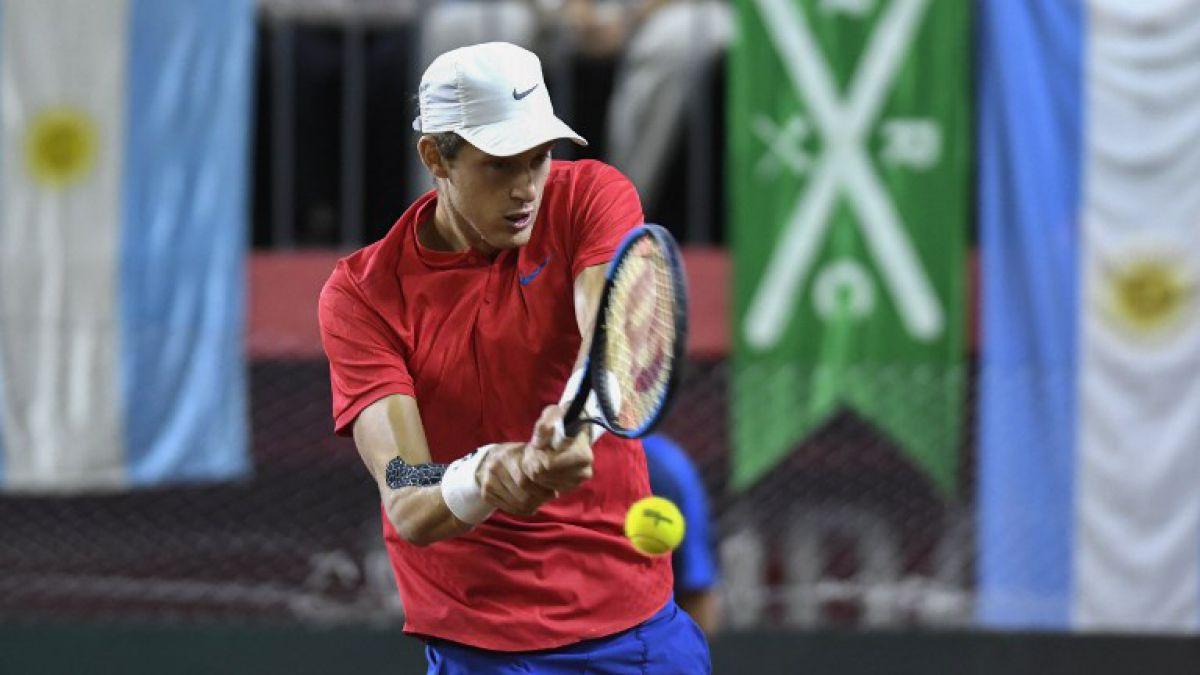 Debut y despedida: Nicolás Jarry queda eliminado en la primera ronda de Roland Garros