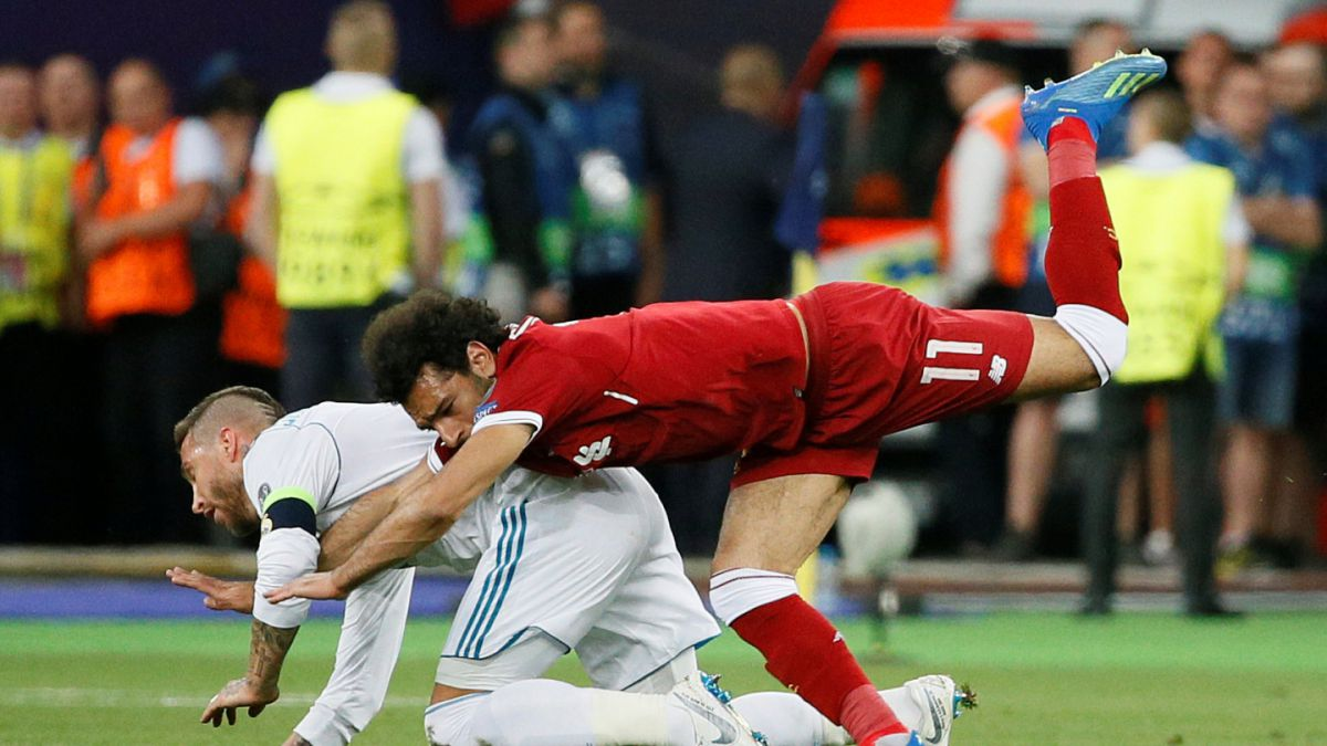Unión Europea de Judo califica falta de Ramos sobre Salah como prohibida en su deporte