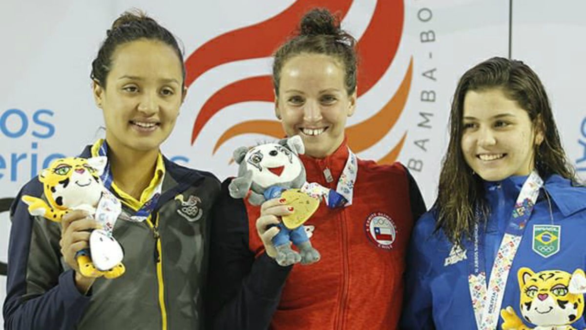 [VIDEO] Kristel Köbrich gana nuevo oro para Chile en los Juegos Suramericanos 2018