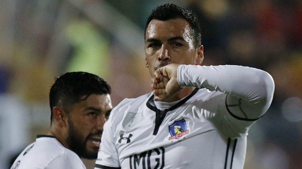 Paredes cierra la primera rueda como máximo goleador del Campeonato Nacional