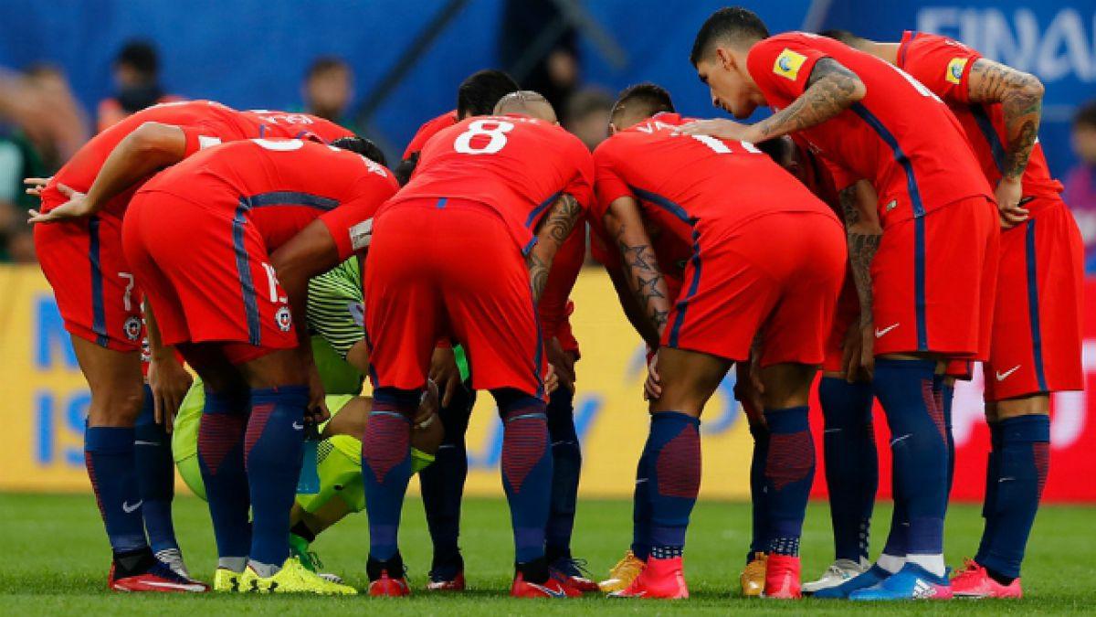 [VIDEO] ¿Quién es el capitán? Así forma Chile en el Mundial de Rusia del FIFA 18