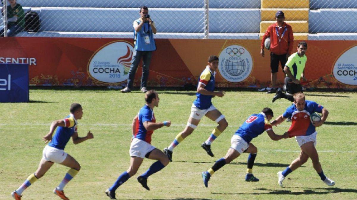 """[VIDEO] Los """"Cóndores"""" se quedan con el oro en el Rugby 7 de Cochabamba 2018"""