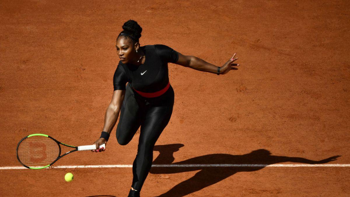 [FOTOS] Serena Williams se inspira en Pantera Negra en su regreso al tenis