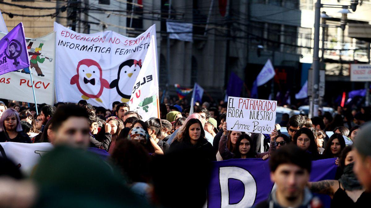 [VIDEO] Jornada nacional de protestas feministas se toman gran parte del país