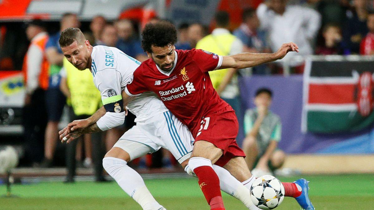 [VIDEO] El registro que exculparía a Ramos de la lesión de Salah en la final de la Champions