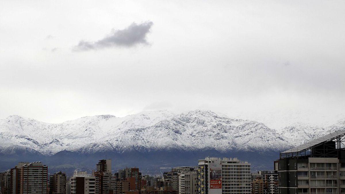 [VIDEO] ¿En qué lugares de Santiago es probable que caiga nieve?
