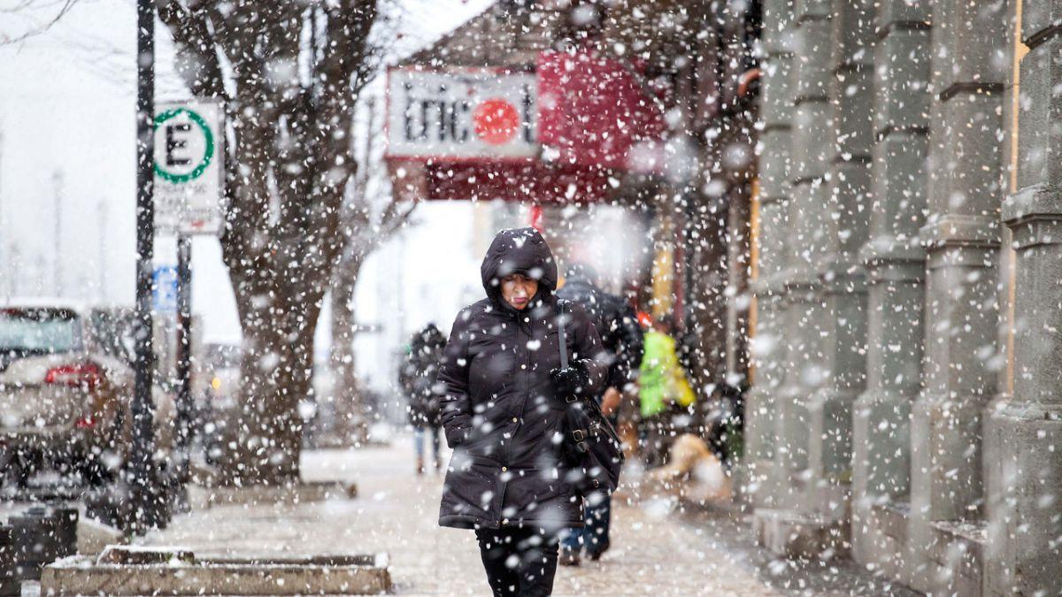Dirección Meteorológica emite alerta por nevadas entre las regiones de Atacama y el Biobío