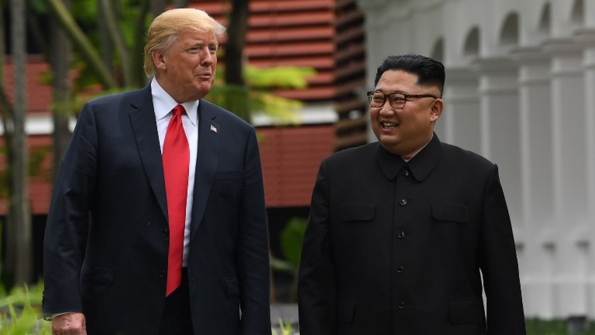 Trump recibe una