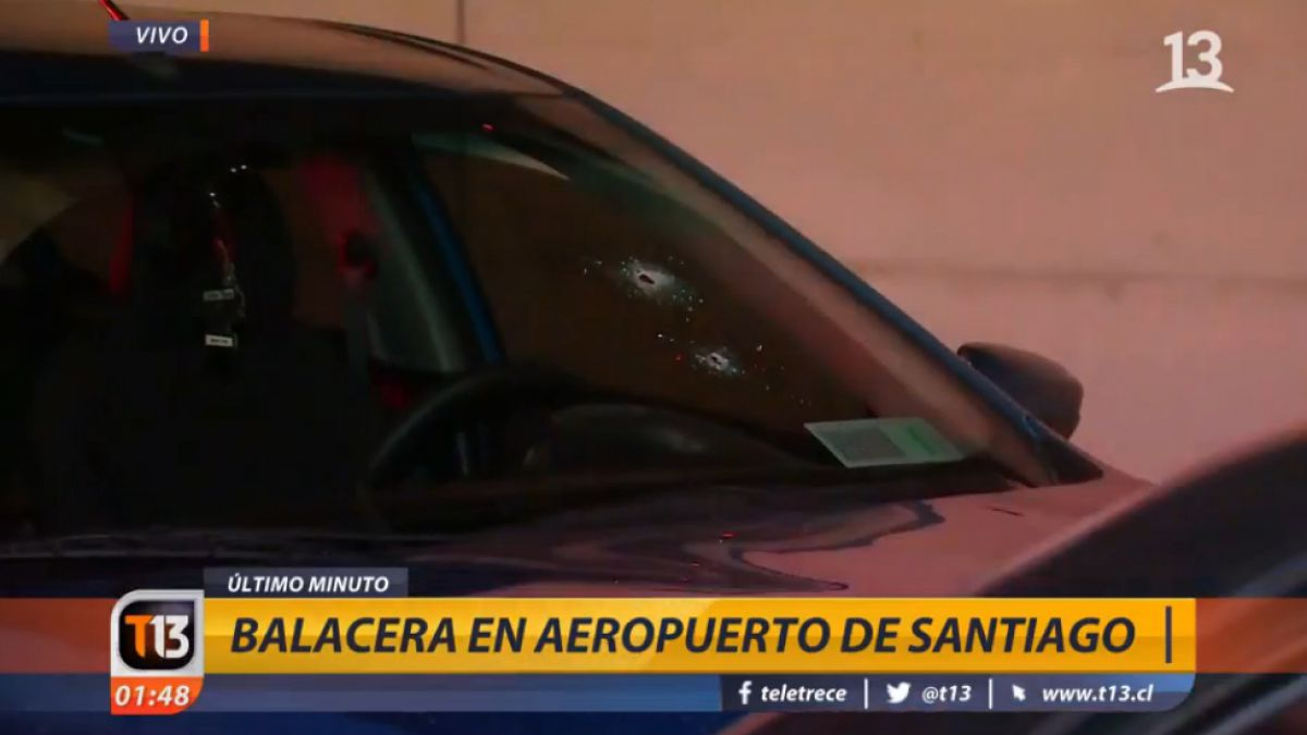 Chofer de Uber baleado: