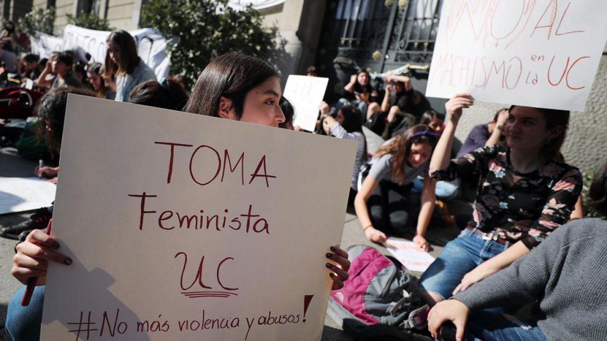 BBC Mundo estuvo al interior de una toma feminista en Chile