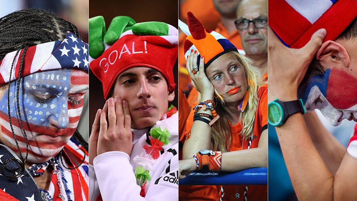 Rusia 2018: ¿a qué países apoyarán los aficionados de los grandes ausentes en el Mundial Rusia 2018?