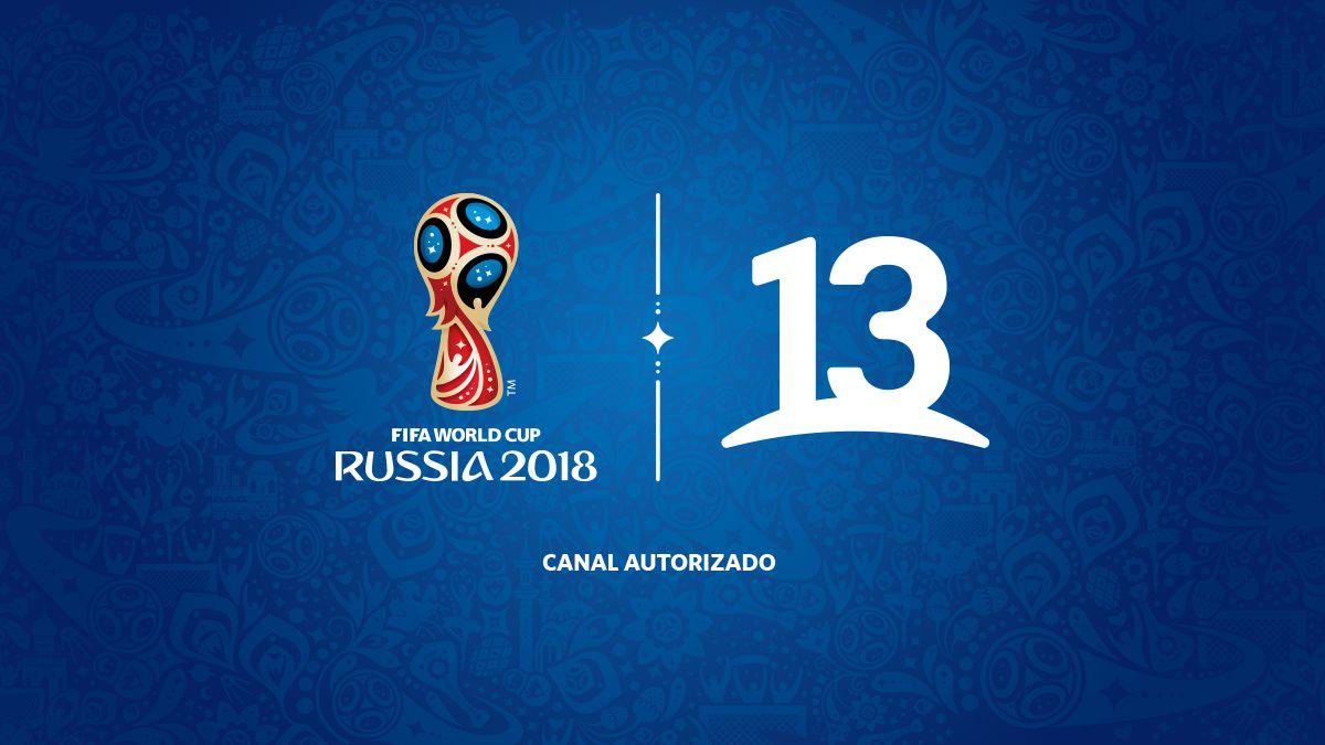 Mundial Rusia 2018 en vivo por el 13