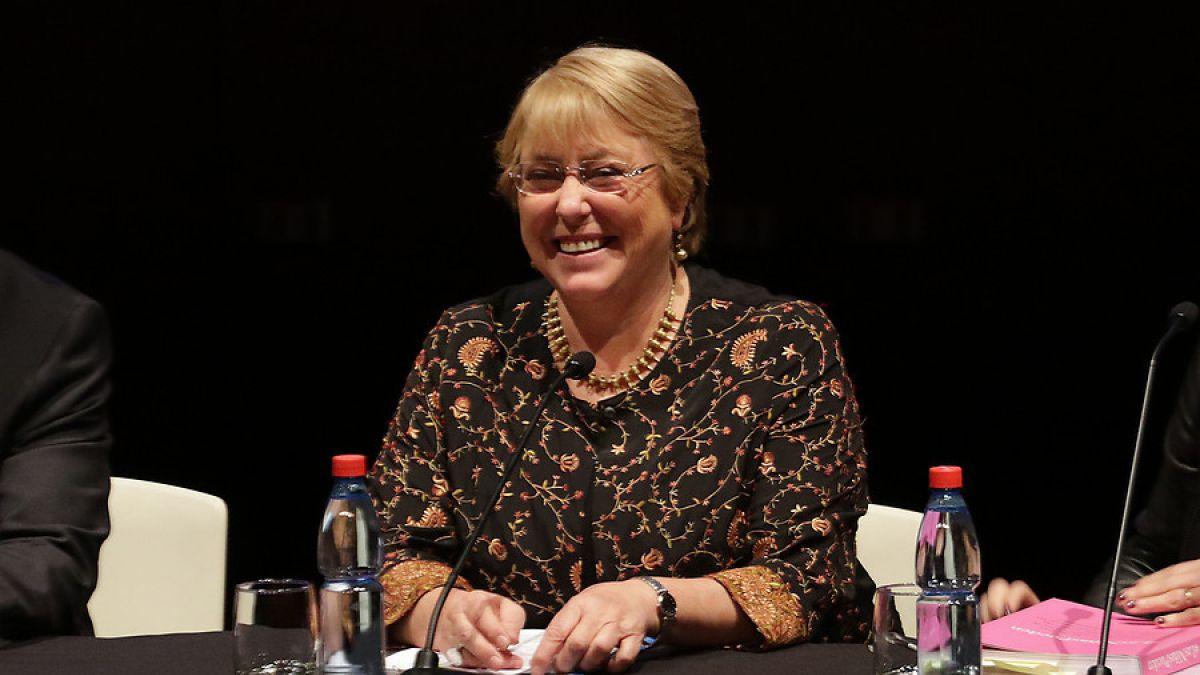 [VIDEO] Bachelet agradeció premio de NatGeo por su contribución en protección de los océanos