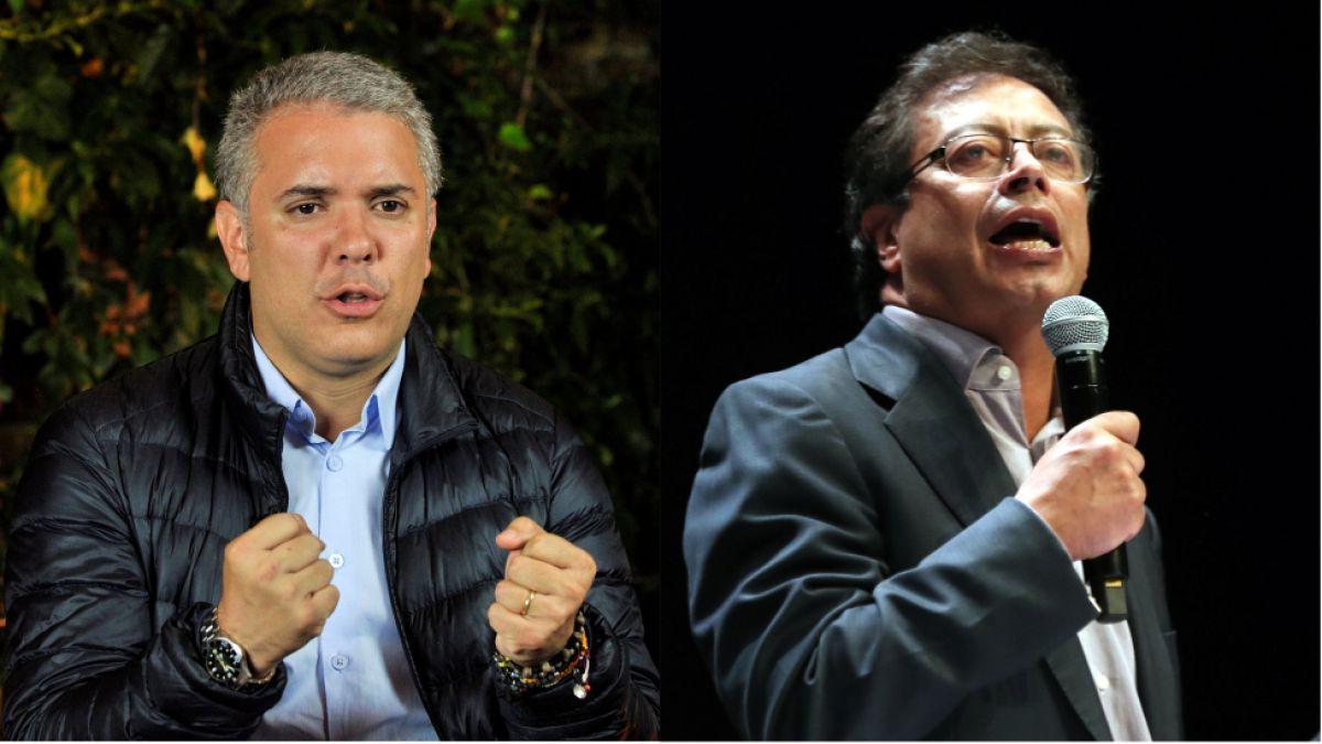Iván Duque vs. Gustavo Petro la derecha y la izquierda se enfrentan en las elecciones de Colombia