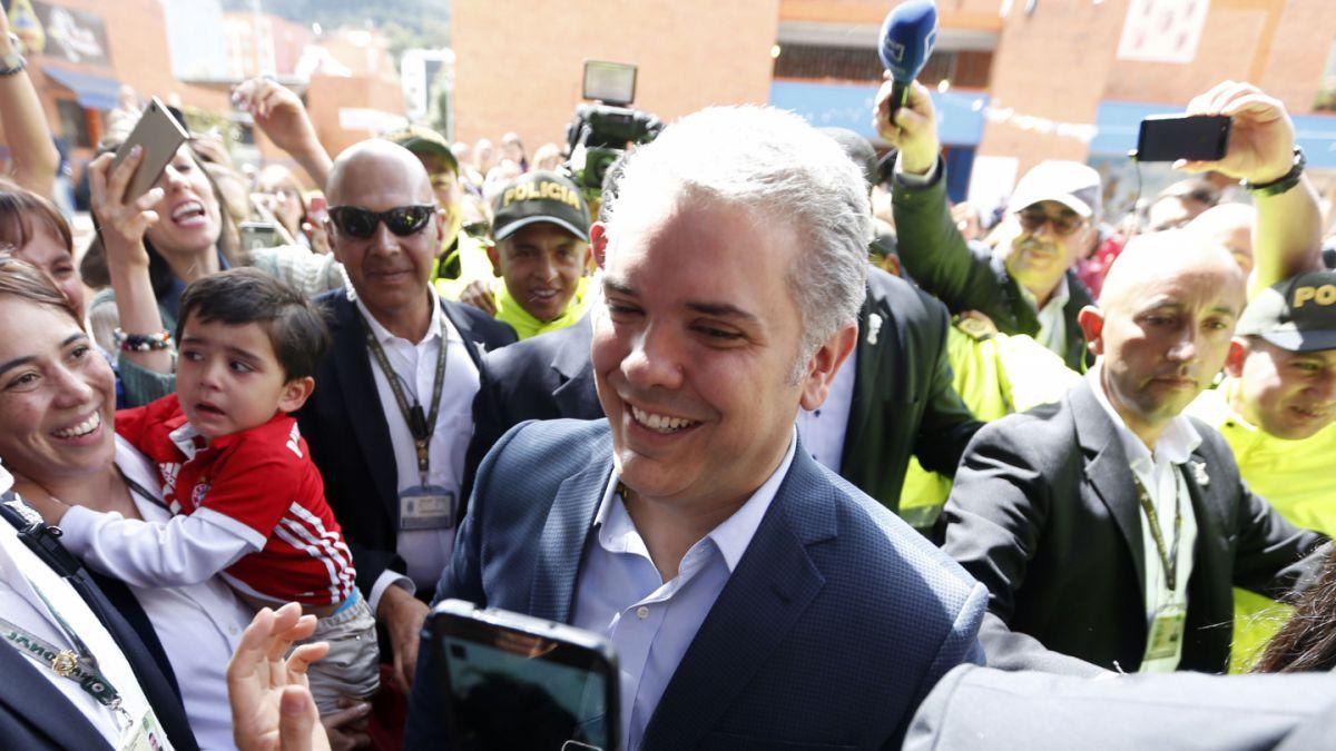 Iván Duque se convierte en el nuevo presidente de Colombia
