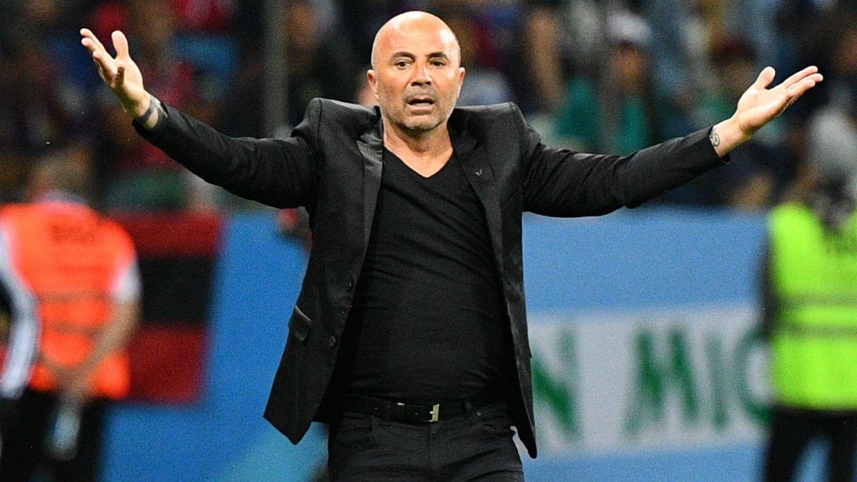 AFA confirmó que Jorge Sampaoli deja de ser el técnico de Argentina