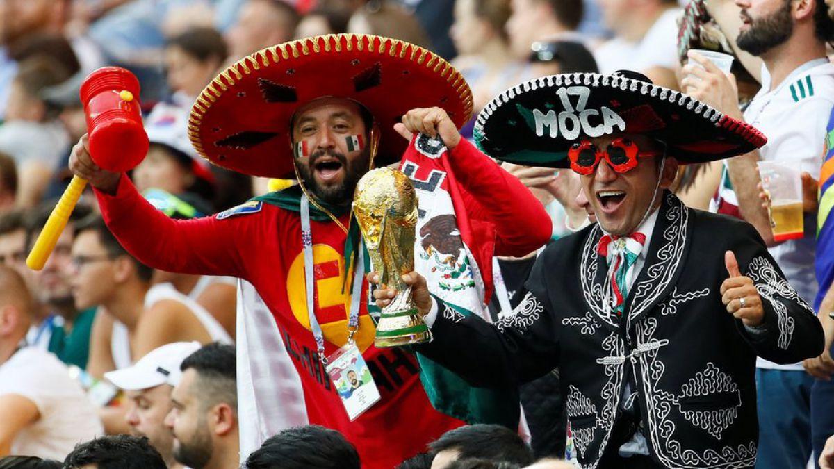 Rusia 2018: las imágenes de alegría de los fanáticos de México por el avance imparable del Tri