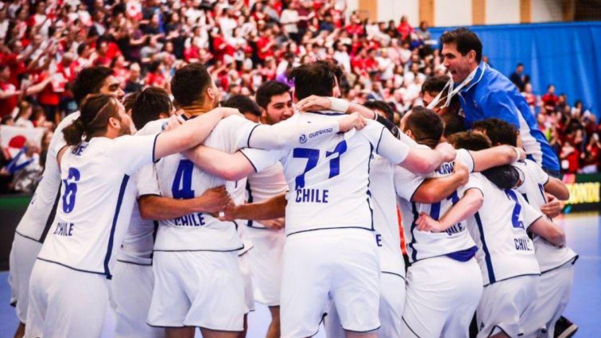 [FOTOS Y VIDEO] Selección chilena de balonmano clasifica al Mundial de 2019