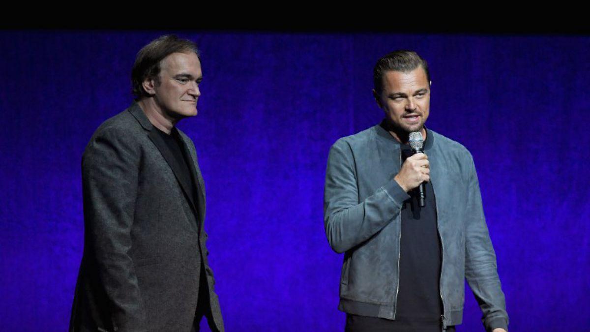 Leonardo DiCaprio publicó la primera imagen de la nueva película de Tarantino