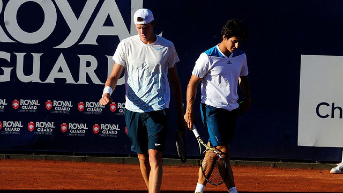Chilenos Nicolás Jarry y Christian Garín ya tienen rivales para Wimbledon