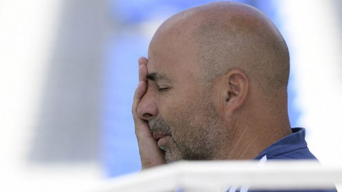 Medios argentinos aseguran que Jorge Sampaoli dejaría la selección argentina