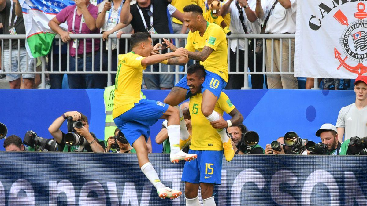 ¿Cuándo juega Brasil frente a Bélgica en el Mundial de Rusia 2018?