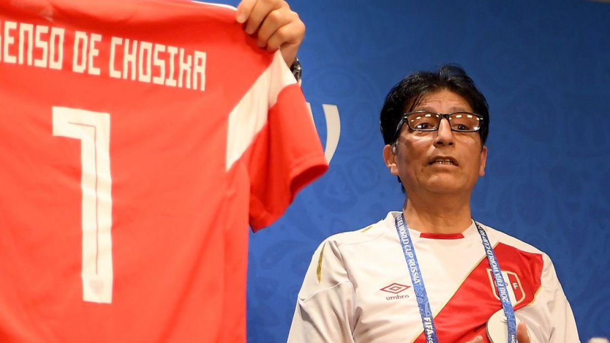 Lorenzo de Chosica, el peruano que se convirtió en amuleto de la Selección de Rusia
