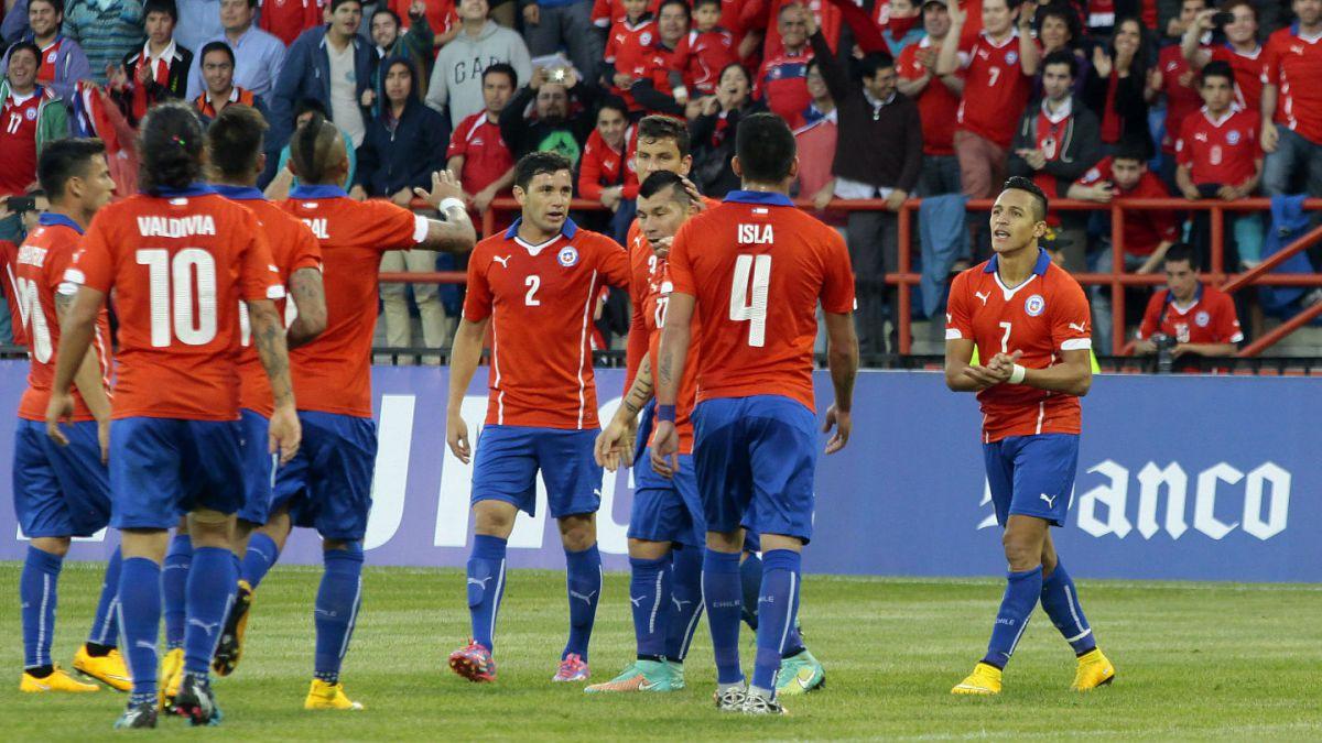 [FOTO] Así recordó la Selección Chilena el festejo de la Copa América