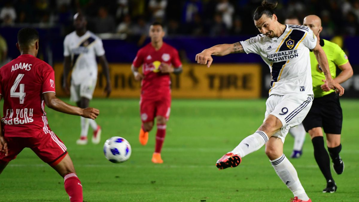 [VIDEO] El golazo de Zlatan Ibrahimovic en su retorno a la MLS