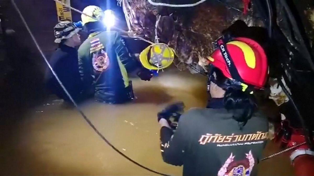 Tailandia: reanudan el rescate de los menores y su entrenador | Tele 13