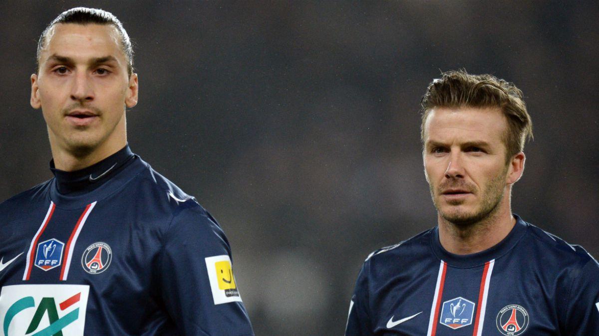 La apuesta de Ibrahimovic a Beckham antes del duelo entre Suecia e Inglaterra en Rusia 2018