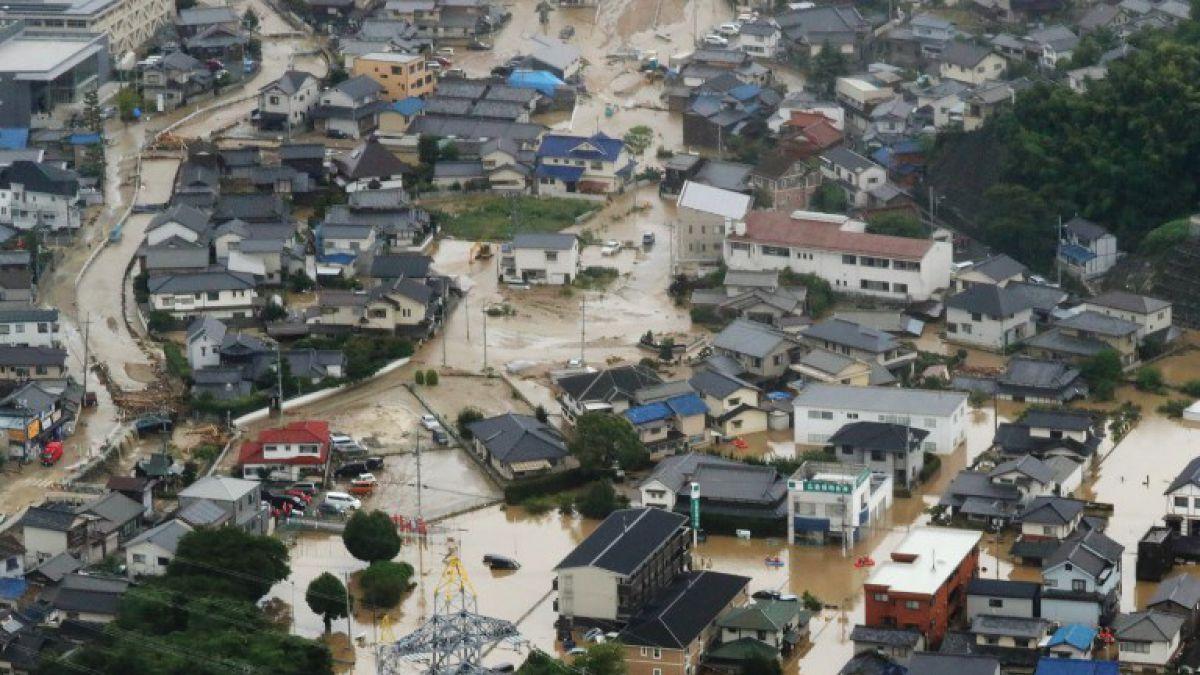 Al menos 44 muertos dejan lluvias torrenciales en Japón